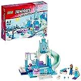 LEGO Juniors Princesas Disney - Zona de juegos invernal de Anna y Elsa...
