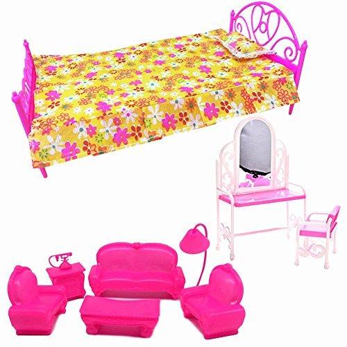 Creation 3 imposta giocattolo bambola casa arredo piccolo for Divano letto matrimoniale piccolo