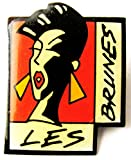 Les Brunes - Pin ca. 32 x 27 mm #1