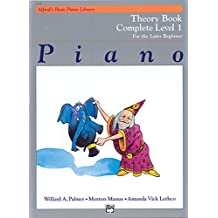 Alfred's Basic Piano Course Theory: Complete 1 (1a/1b) (Alfred's Basic Piano Library)