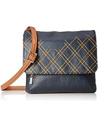 Baggit Women's Cosmetic Bag (Navy Blue)