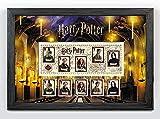 Harry Potter Affiche encadrée Poudlard miniature Sheet