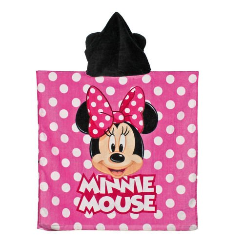 Image of MINNIE MOUSE badeponcho