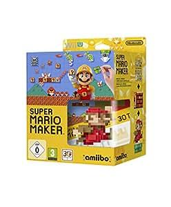 Super Mario Maker (inkl. amiibo 8-Bit Mario Figur + Artbook) – [Wii U]: Nintendo Wii U