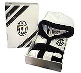 Accappatoio dabambinoin spugna 100% cotone, prodotto ufficiale Juventus F.C. Taglia Unica 8/10 anni