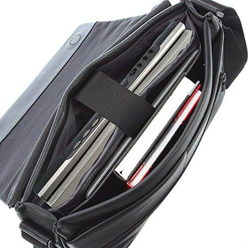 Porsche Design Cervo 2.0 ShoulderBag MFH 4090001800 Herren Schultertaschen 35x25x6 cm (B x H x T) Schwarz (Black 900)