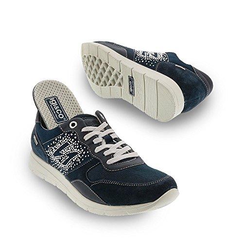 Igi & Co Donna Sneaker Goretex Con Sistema Surround Traspirante Blu