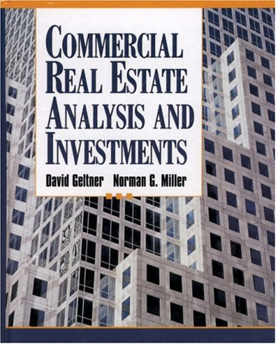 Commercial real estate analysis and investments geltner pdf download annuities investment-linked fund performance