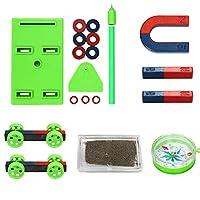 Deykhang Magnets For Kids Toys Educational Magnetics Science Kits Magnet Bar Magnet Toys Horseshoe Magnet Set Boy Toys Age 8