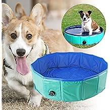 Bañera Yitoo, para perros, hecha de material respetuoso con el medio ambiente, para