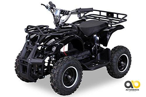 Elektro Atv Kinder (NEU Elektro Kinder Miniquad TORINO 800 Watt ATV Pocket Quad Kinderquad Kinderfahrzeug schwarz)