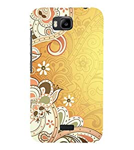 printtech Abstract Ethnic Pattern Back Case Cover for Huawei Honor Bee
