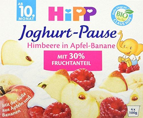 HiPP Himbeere in Apfel-Banane, 12er Pack (12 x 400 g)