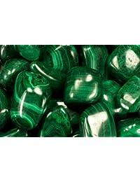29a46fb18b65 Fantasia Materials  110 Gramos de Piedras de malaquita de Zaire – Gemas  Naturales pulidas para