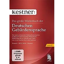 Das große Wörterbuch der Deutschen Gebärdensprache 2 (PC+Mac) [import allemand]