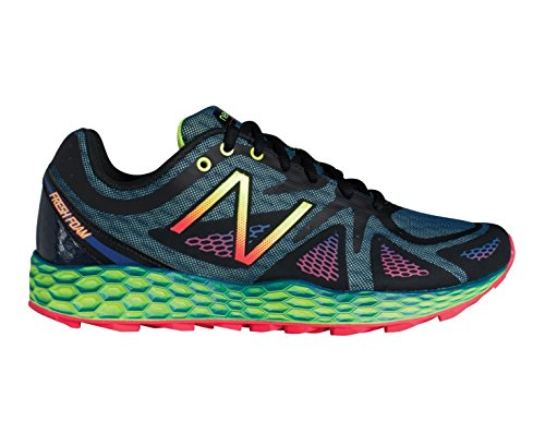 New Balance - Fresh Foam 980 Trail - Chaussures de running, homme multicolore (Black with Blue)