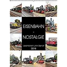 EISENBAHN - NOSTALGIE - 2018 (Wandkalender 2018 DIN A2 hoch): Dampflokomotiven - historische Erinnerungen aus vergangenen Tagen. (Monatskalender, 14 Seiten ) (CALVENDO Mobilitaet)