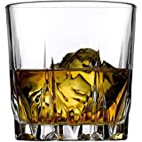 Incrizma Glassware Crystal Whisky Glass(300ml, Clear) - Set of 2