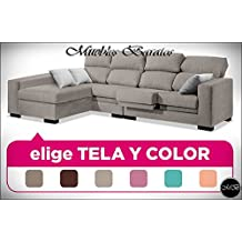Sofas chaise longue 3 4 plazas salon sofa chaiselongue cheslong comedor ref-73