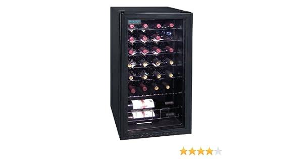 Minibar Kühlschrank Polar 30l Schwarz : Polar polar weinkühlschrank l amazon küche haushalt