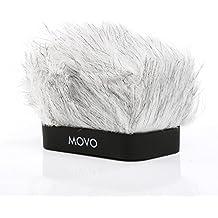 MOVO WS-R10 Pantalla Contra el Viento Profesional con Tecnología de Espuma Acústica para Grabadoras Digitales Portátiles Zoom IQ-6, Tascam DR-07 MKII, Sony PCM-M10 & Rode Ixy
