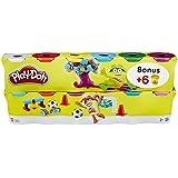 Play-Doh - Pack 12 botes (Hasbro B6751EU4)