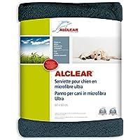 ALCLEAR A257341M-Super Microfibre Dog Towel, Grey, 60 x 60 cm - ukpricecomparsion.eu