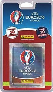 Panini - Blíster 10 sobres Euro 2016 Francia (003028BLIE)