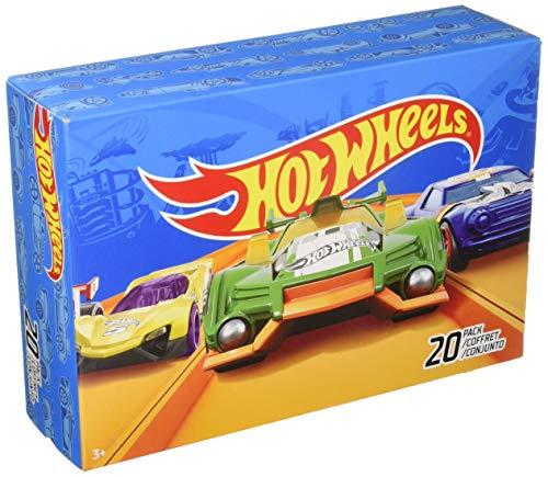 Hot Wheels - Pack de 20 vehículos (Mattel DXY59)