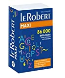 Dictionnaire le Robert Maxi langue francaise