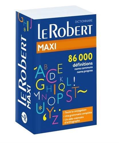 Dictionnaire le Robert Maxi langue francaise