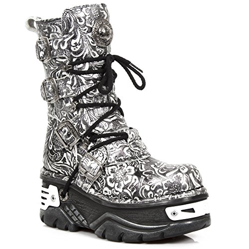 New Rock M.373-S28 BLACK, STEEL