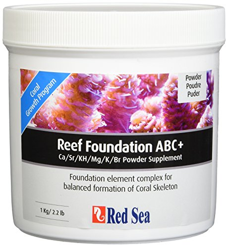Red Sea Fish Pharm are22007 Reef Foundation salzwasserpflege für Aquarium, 1 kg -