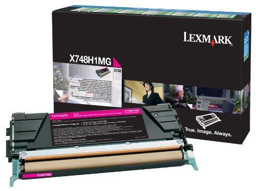 Preisvergleich Produktbild LEXMARK PB Toner magenta X748 10000 Seiten