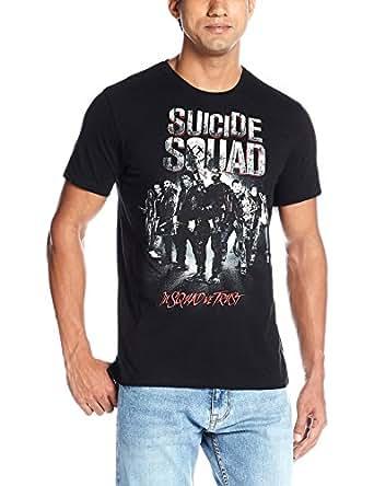 Suicide Squad Men's T-Shirt (8903346571116_SS0EMT2113_Medium_Black)