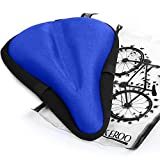 Most Comfortable Exercise Bike Seat Cushion - Universal Bicycle Saddle Cover for Women