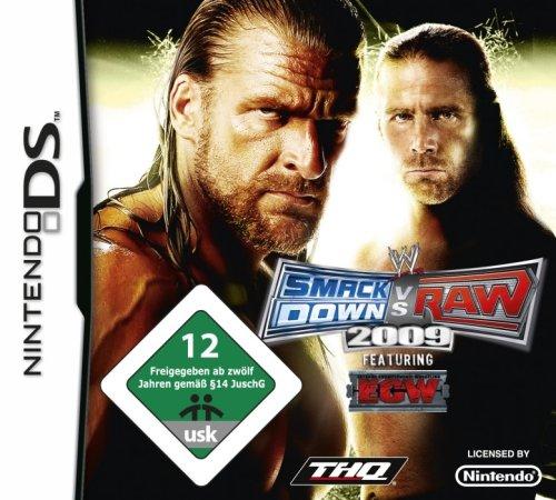 WWE Smackdown vs. Raw 2009 - Ds-sport-spiele
