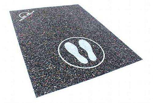 Unterlage für das Springseil / Sprungseil Training, auch geeignet für Fitnessgeräte, 75 x 150cm