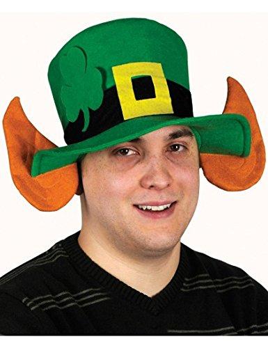 Chapeau lutin avec oreilles Saint-Patrick adulte