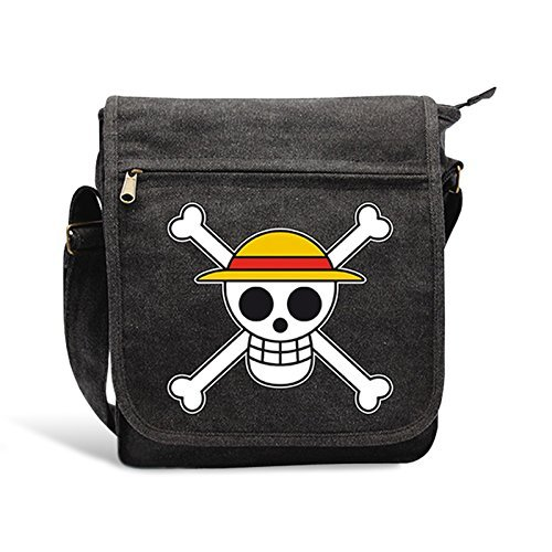 ABYstyle One Piece Borsa a Tracolla Skull per Adulti, 23x27x8 cm, ABYBAG071