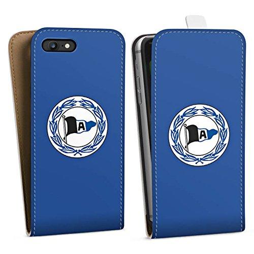 Apple iPhone X Silikon Hülle Case Schutzhülle Arminia Bielefeld Fanartikel DSC Fußball Downflip Tasche weiß