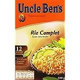 Uncle Ben's Riz Complet Grain Extra-Tendre 500 g
