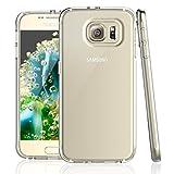 NEW'C Coque pour Samsung Galaxy S6, [ Ultra Transparente Silicone en Gel TPU Souple ]...