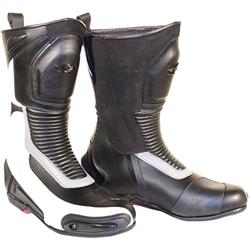 botas-de-moto-spyke-road-runner-wp-41-blanco-negro