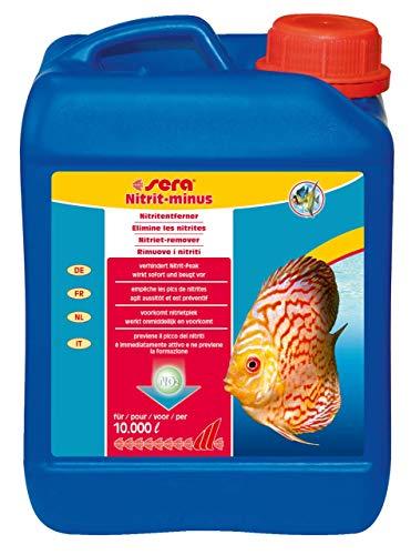 sera 32303 Nitrit-minus 2500 ml entfernt pro Dosierung sofort 1, 5 mg/l Nitrit aus dem Aquariumwasser