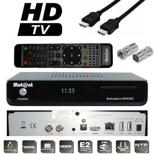 Mutant HD530C 1x DVB-C FBC Triple Tuner H.265 Full HDTV E2 Linux Kabel Receiver Hdtv-tuner