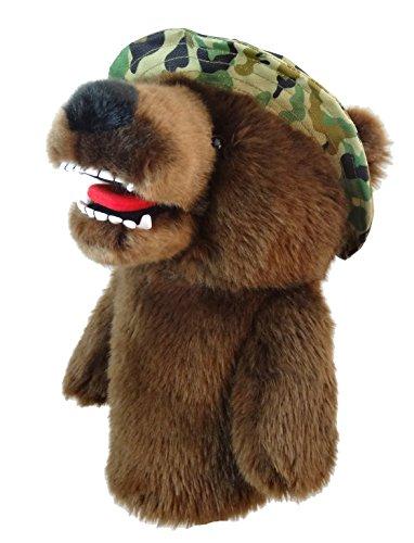 Daphne's Schlägerkopfhüllen Herren Military Bär, brown-camo, 460cc