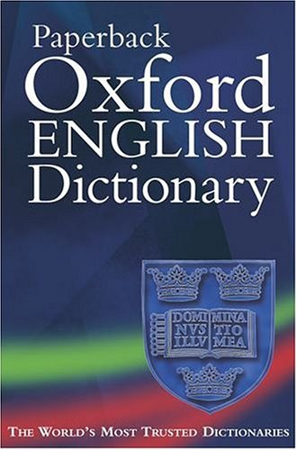 Oxford paperback english dictionary : 5the Edition
