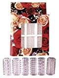 Orion 520055 Red Roses Penismanschetten 6er-Set