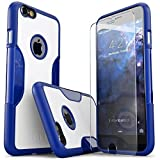 Best Sahara Case Iphone 6 Plus Tempered Glasses - iPhone 6S Plus Case, Blue White *Bonus Glass* Review